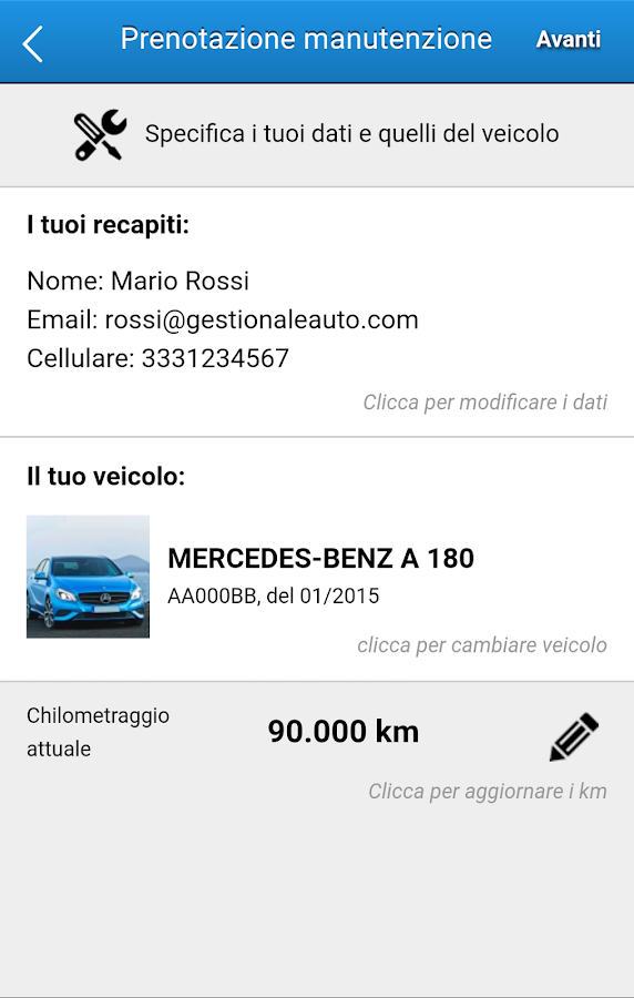 GestionaleAuto.com Dealer Demo- screenshot