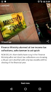 lexNEWS - Tax and related NEWS- screenshot thumbnail
