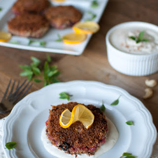 Colcannon Croquettes with Cashew Cream