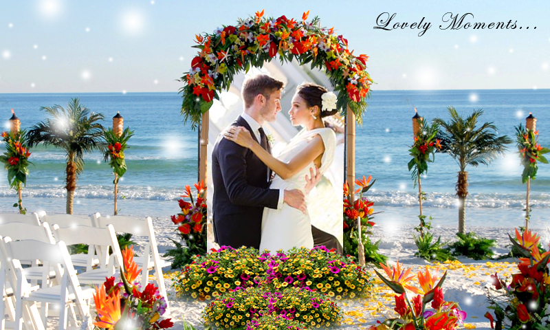 wedding photo frames new screenshot