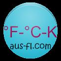 Fahrenheit Celsius Kelvin Conv icon
