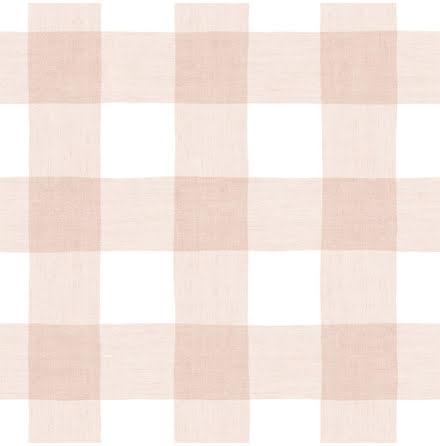 Christiana Masi Hashtag 11024 Tapet med rutigt tygmönster, Rosa