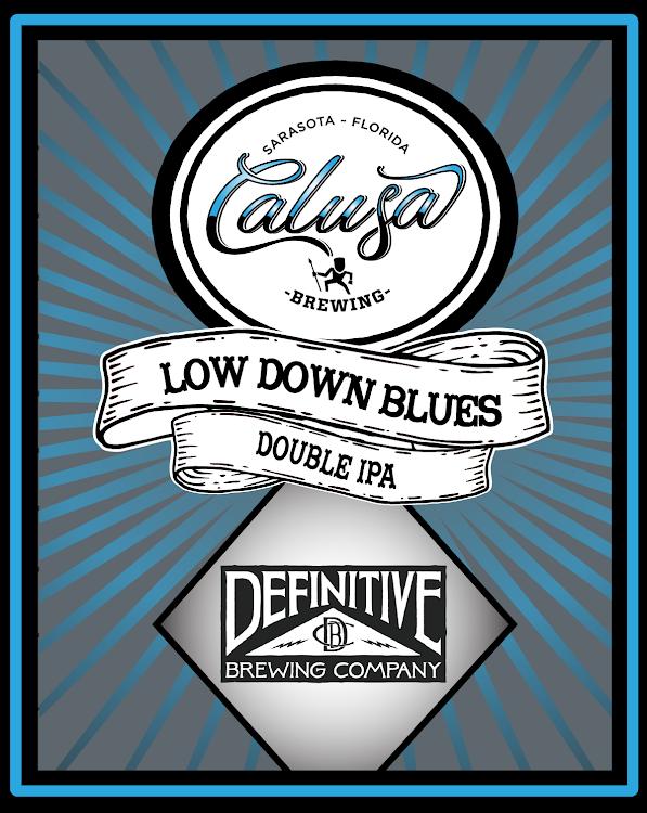 Logo of Calusa Low Down Blues