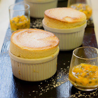 Banana and Passion Fruit Souffle Recipe