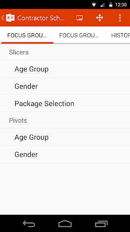 Office Remote for Android Screenshot