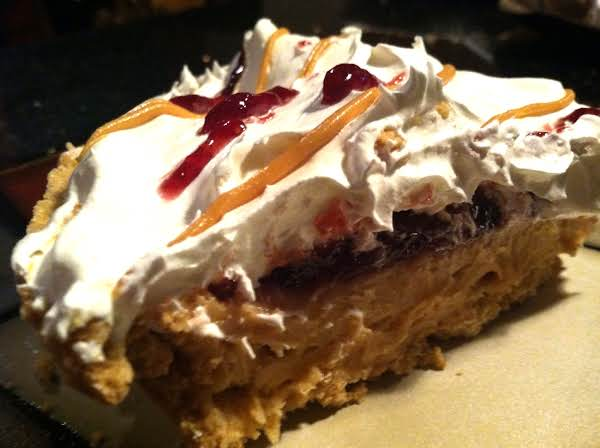 Easy Peanut Butter N Jelly Pie Recipe