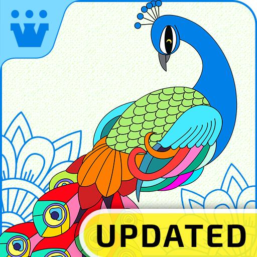 Color It – Free Coloring Book Icon