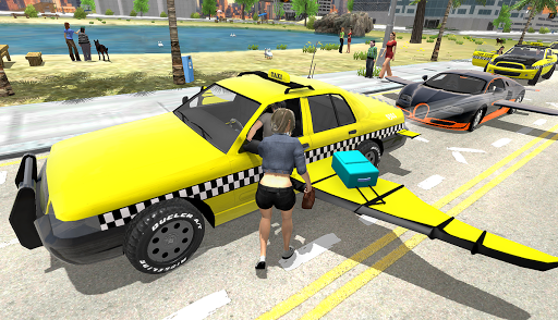 Flying Car Transport Simulator  screenshots 6