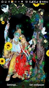 Radha Krishna Live HD 3D Wallpaper - AppRecs