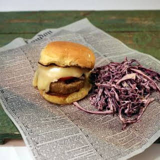 Latin Turkey Burger with Raclette Cheese.