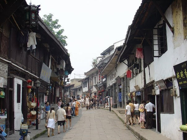 Ciqikou ancient road in Shapingba District