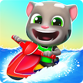 7.  Talking Tom Jetski 2