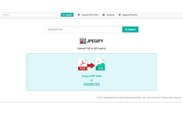Jpegify: convert PDF to JPG