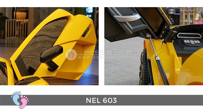 xe ô tô điện trẻ em Lamborghini NEL-603 23