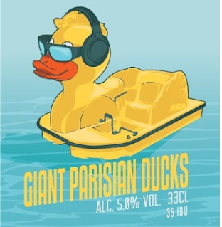 Giant Parisian Ducks
