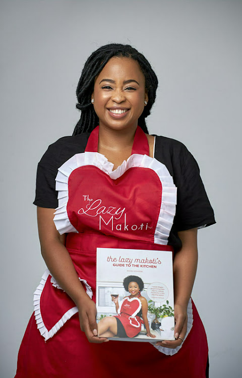 Chef Mogau Seshoene's cookbook, 'The Lazy Makoti's Guide to the Kitchen', is already in its seventh print run.