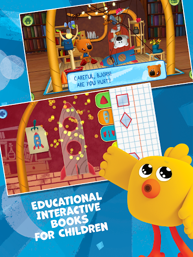 Bebebears: Interactive Books and Games for kids  screenshots 3