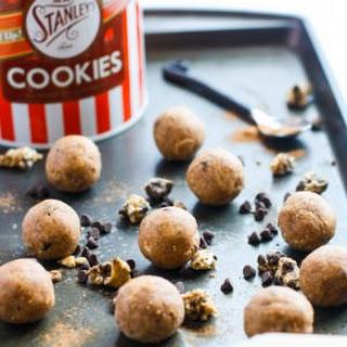 No Bake Pumpkin Spiced Cookie Dough Bites {gluten free}