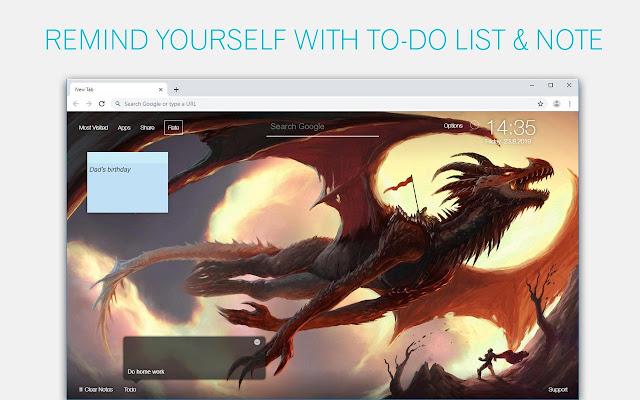 Dragon Wallpaper Hd Custom New Tab Chrome Web Store