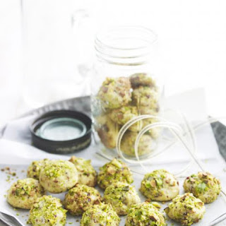 Marzipan and Pistachio Cookies Recipe