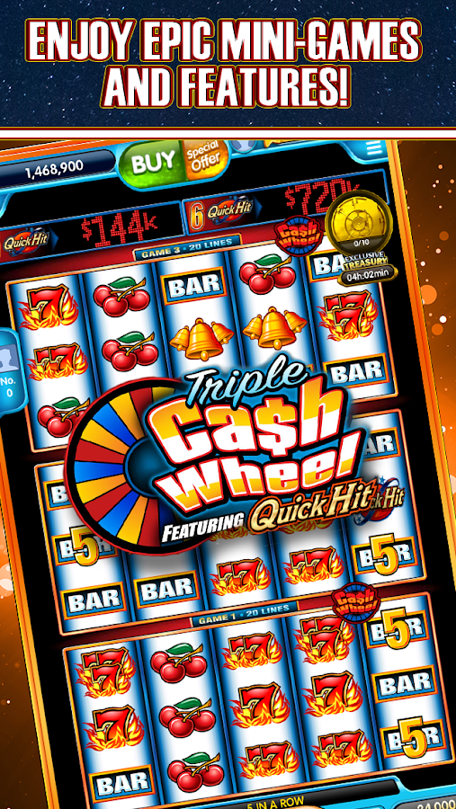 Quick Hit Casino Slot Machine
