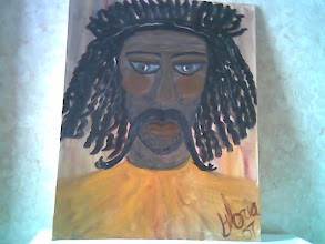 Photo: Ghana Man, one of ethnic paintings in a series, oil on canvas, 16 X 20, painted at Denver Co 80203