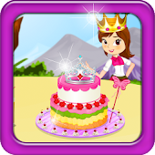 Princess Birthday Cake Cooking
