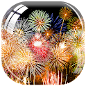 New Year Fireworks LWP icon