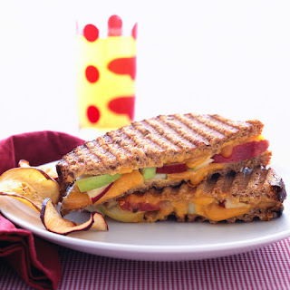 Apple-Cheddar Panini