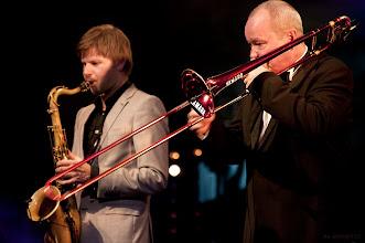 Photo: Nils Landgren / Magnus Lindgren - 25. Intern. Jazzfestival Viersen 2011 - Festhalle Bühne 1
