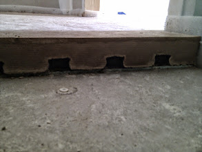 Photo: doorsnede van de afwerkvloer