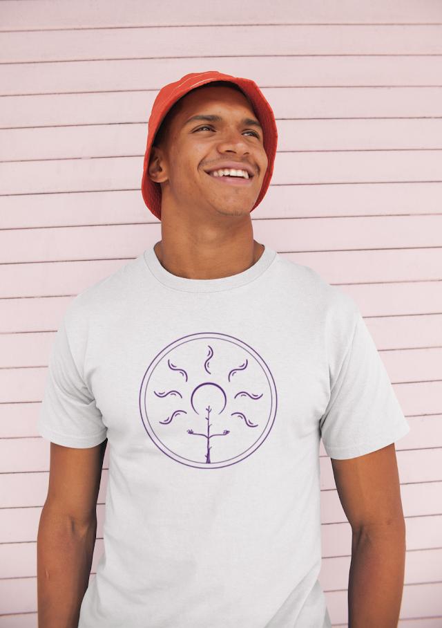 Diseño que ha ganado el Concurso de Camisetas Solidarias y que es comercializado por Sémola Pura con fines solidarios.