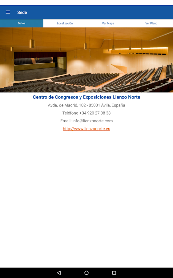 Congreso GEER- screenshot