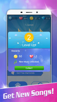 Magic White Piano: Music Tiles APK screenshot thumbnail 6
