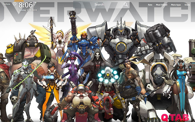 Overwatch Wallpapers New Tab