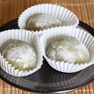 Matcha Green Tea Mochi.