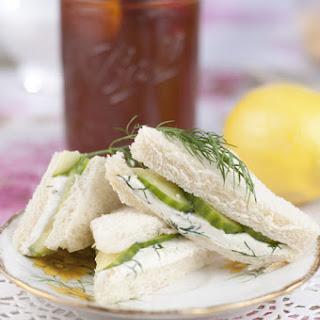 English Cucumber Sandwiches Recipes.