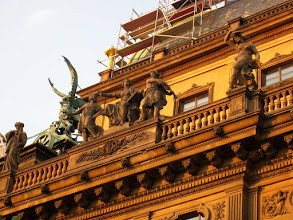 Photo: A detail from the National Theater