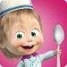 Masha and Bear: Cooking Dash Icon