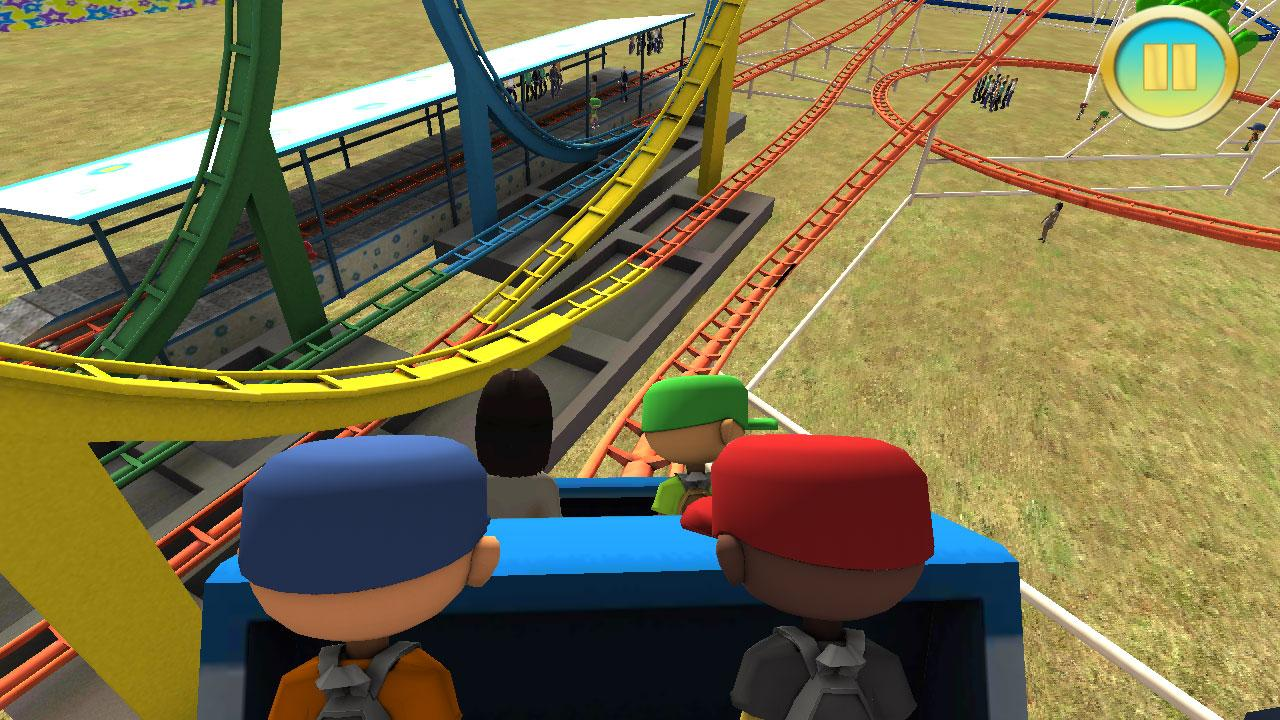 real roller coaster games