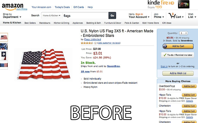 Made in USA on Amazon
