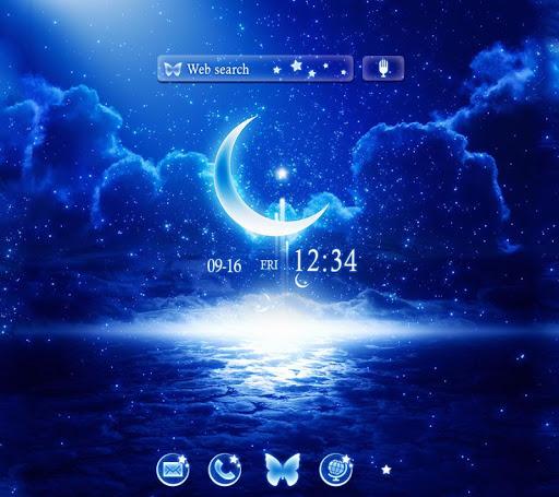 Moonlight Fantasy Free Theme screenshot