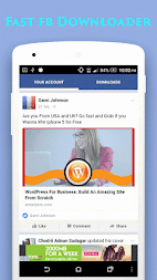 Video Downloader For Facebook by Perfect Free Apps APK - apkname com