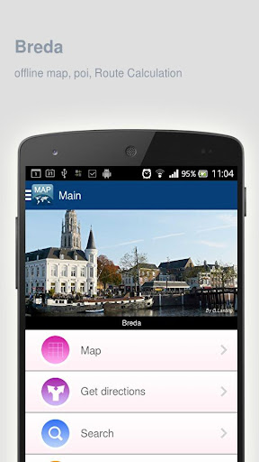 Breda Map offline