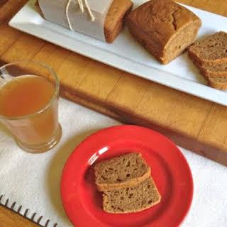 Gluten-Free Apple Cider Bread.