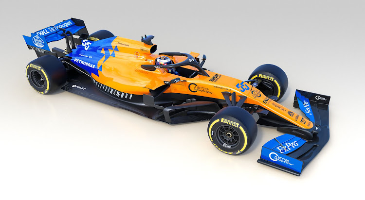 The new McLaren MCL34