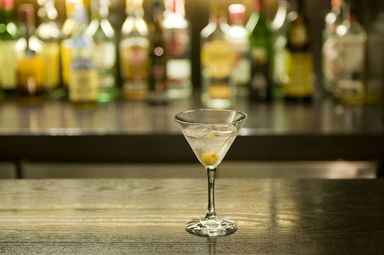 Bond's signature drink: a martini that's been shaken, not stirred.
