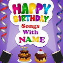 Birthday Song With Name - Wish Video Maker icon