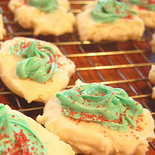 Mini Melt Away Cookies