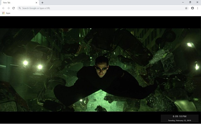 The Matrix New Tab & Wallpapers Collection